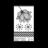 RS Laser Texture Paper - Chevron Flower