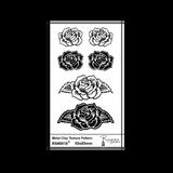 RS0018 Roses Pendant & Earring Set