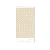 RMR Laser Texture Paper - Black Jack - 50 x 89mm