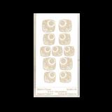 RMR Laser Texture Paper - Mikel's Flower - 50 x 89mm