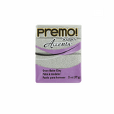 Premo Sculpey Accent, White Gold Glitter