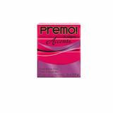 Premo Sculpey Accent, Fluorescent Pink