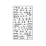 RS Laser Texture Paper - Birds on a wire