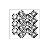 The Crafters Workshop 6x6 Stencil - Circle of Jewels