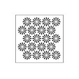 The Crafters Workshop 6x6 Stencil - Retrobursts