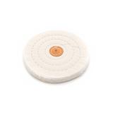 Polishing & Buffing Muslin Wheel - 60 Layers, 15.2cm
