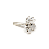 Sterling Silver Flower Prong - CHERRY BLOSSOM - 3mm