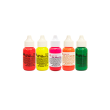Alumilite Dye Set - 5 fluorescent colours