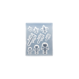 Silicone Mould - Skulls, Daggers and Lilies