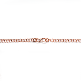 Antique Copper Curb Chain - 45cm