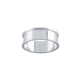 Sterling Silver Ring Core UK Size P
