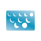 Moon Phases template by Cool Tools.