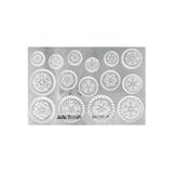 Jewel Stamps - Filigree Gears 1