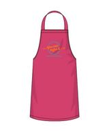 Pink YCMI apron