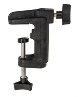 Bench clamp for motor hanger