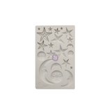 """Finnabair Mould by Prima - Star & Moons 5x8"""""""