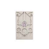 "Finnabair Mould by Prima - Cogs & Wings 5x8"""