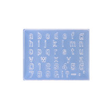 Art Clay Exclusive Mould - Alphabet (Small Letters)