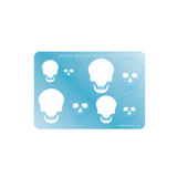 Skull 1 Template by CoolTools.