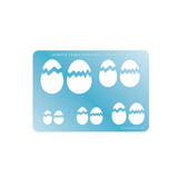 Cracked Egg template by CoolTools