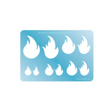 Fire template by CoolTools