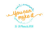 You can make it - 2018!
