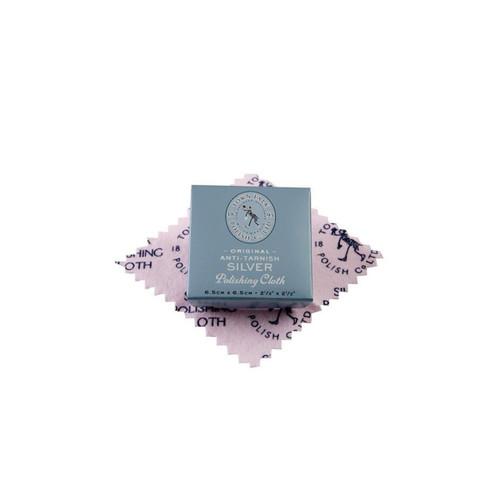 Town Talk Anti-Tarnish Silver Polishing Cloth  - Dinky (6.5 x 6.5cm)