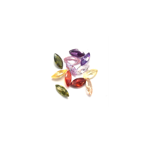Lab Created Gempack - Marquise Mixed Colours (12 stones)