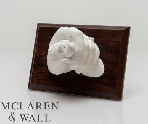 Created by Natasha Mockett from McLaren & Wall, using Resin Plaster.