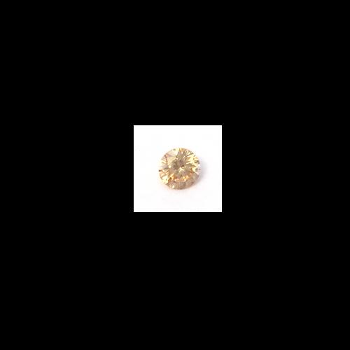 Lab Created Gemstone - Champagne Round