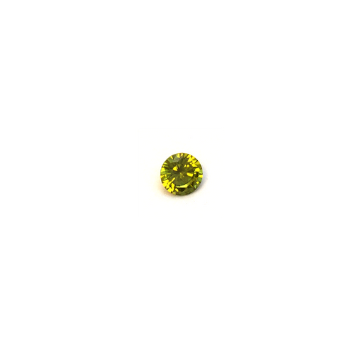 Lab Created Gemstone - Peridot Round