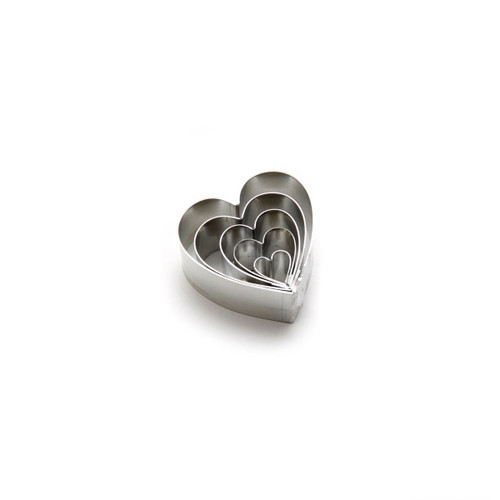 Cutters - Hearts - Set of 5