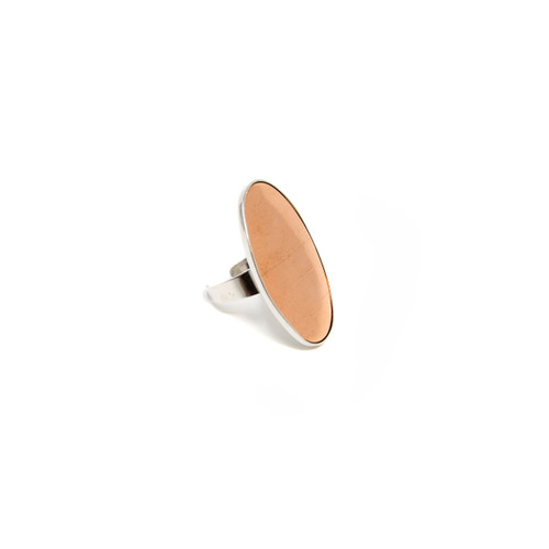 Efcolor Ring Blank - Oval - 40 x 25mm