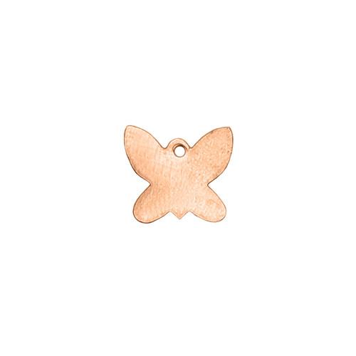 Copper Blank - Butterfly - 14 x 13mm