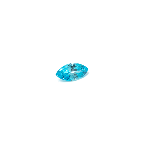 Lab Created Gemstone - Blue Topaz Marquise 8x4mm (Non-fireable)