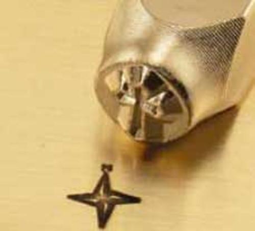 Metal Stamp Compass 6mm