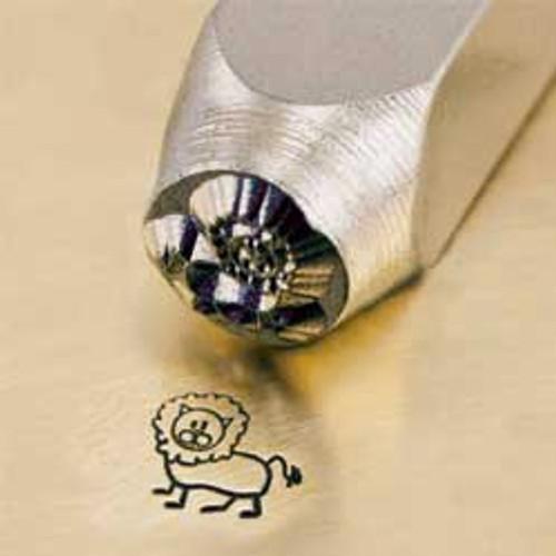 Metal Stamp Leo the Lion 6mm
