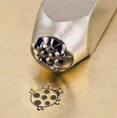 Metal Stamp Lady Bug 6mm