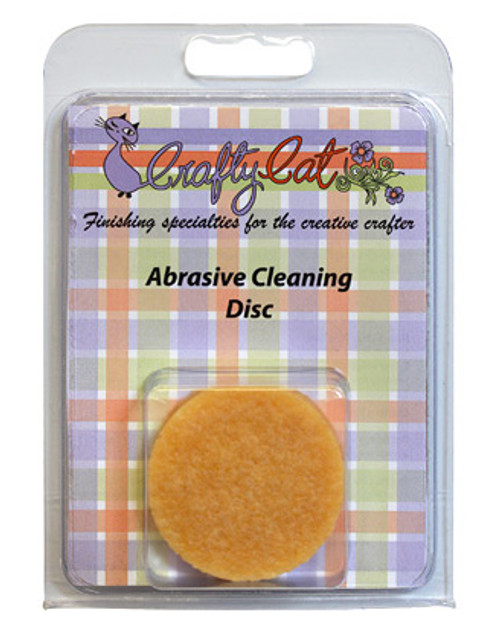 Abrasive Cleaning Disc - Crafty Cat