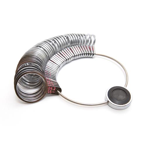 Metal Ring Gauge - International Sizes