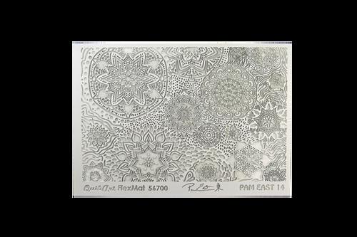 Pam East FlexMat Texture Stamp - Mandala Mirage