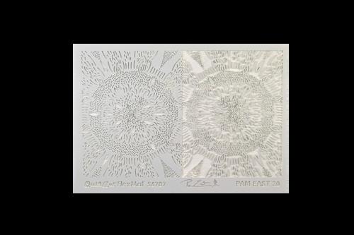 Pam East FlexMat Texture Stamp - Seedburst