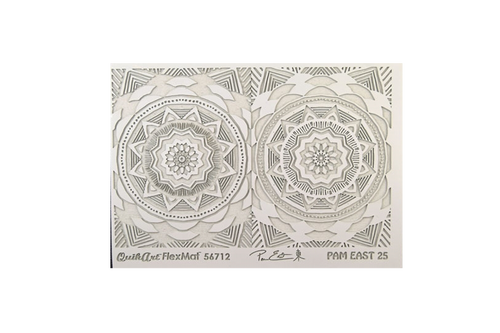Pam East FlexMat Texture Stamp - Radiance