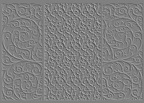 RMR Laser Texture Paper - Wrought Iron - 76 x 102mm