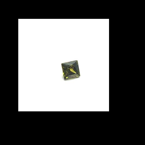 Lab Created Gemstone - Peridot Square