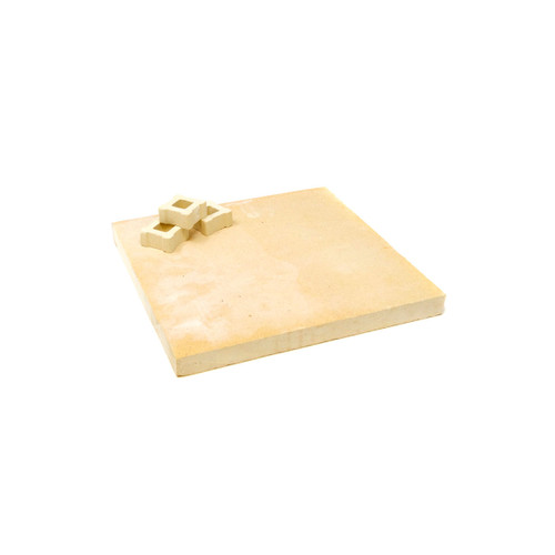 """Includes hard ceramic kiln shelf (7""""x7""""). Please note the posts may be round or square, and could be 0.5"""" up to a max of 2"""". If a specific height is important, the posts are also available to buy individually."""