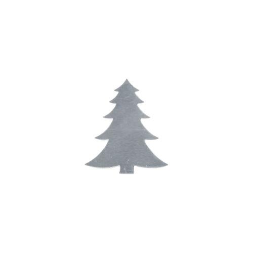 Aluminium Blank - Christmas Fir Tree - 46 x 40mm