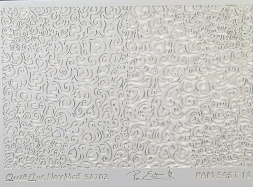 Pam East FlexMat Texture Stamp - Heartfelt