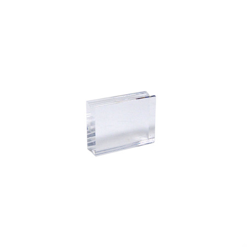Acrylic Stamping Block - Small - 38 x 50mm