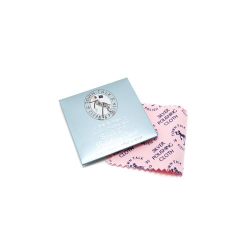Town Talk Anti-Tarnish Silver Polishing Cloth - Mini Wallet Size (7 x 14cm)